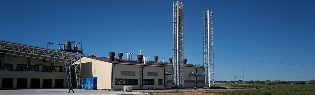 Промышленные дымовые трубы из нержавеющей стали