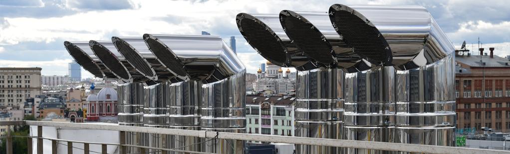 Дымоходы из нержавеющей стали для генераторов